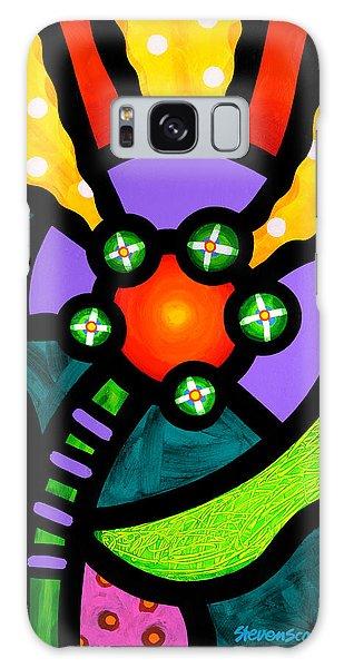 Prairie Sunflower Galaxy Case