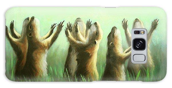 Praising Prairie Dogs Galaxy Case