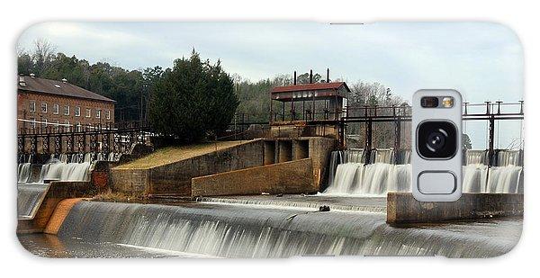 Prattville Dam Prattville Alabama Galaxy Case by Charles Beeler