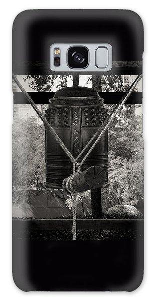 Prayer Bell Galaxy Case by Darryl Dalton