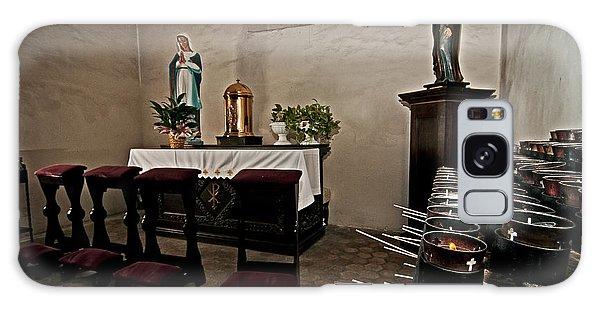 Prayer Chapel Galaxy Case by Andy Crawford
