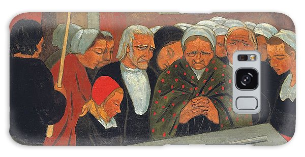 Place Of Worship Galaxy Case - Prayer To Saint Herbot by Paul Serusier