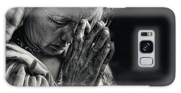 Lady Galaxy Case - Prayers by Piet Flour