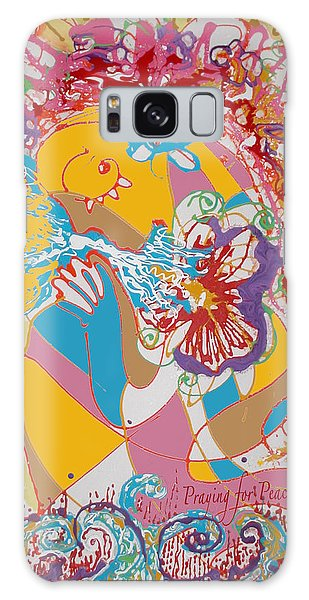 Praying For Peace Galaxy Case