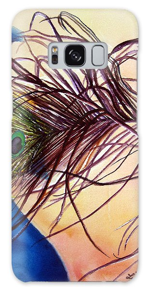 Preening For Attention Sold Galaxy Case by Lil Taylor