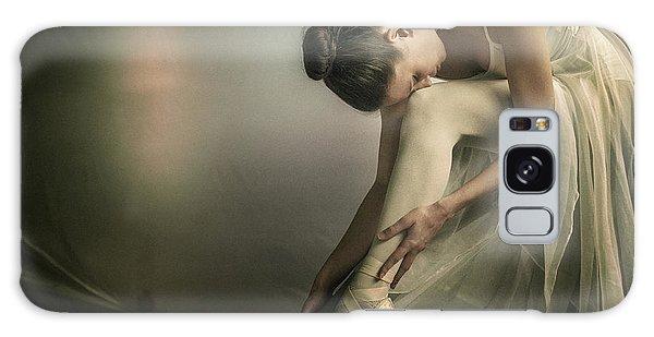 Ballerina Galaxy Case - Preparation To Dance by Federico Cella
