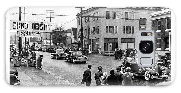 Pres. Roosevelt's Motorcade 1944 Galaxy Case