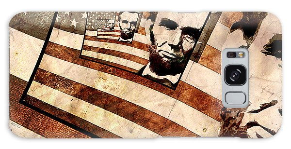President Abraham Lincoln Galaxy Case