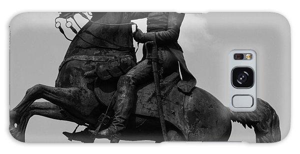 President Andrew Jackson Statue Galaxy Case by Robert Hebert