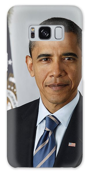 Barack Obama Galaxy Case - President Barack Obama by Pete Souza
