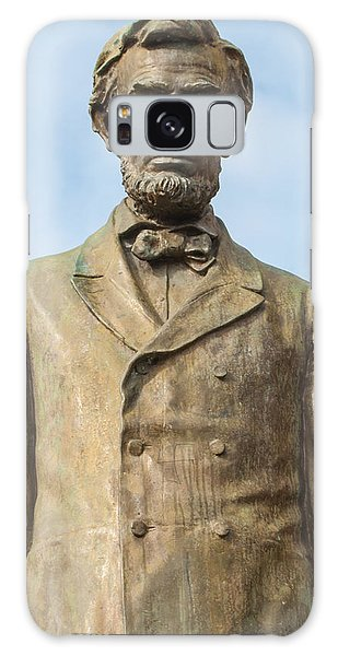 President Lincoln Statue Galaxy Case