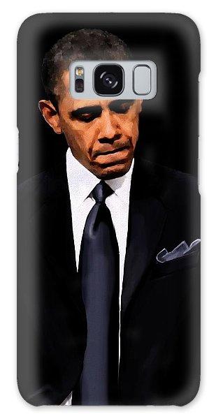 President Obama Galaxy Case by Jann Paxton
