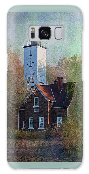 Presque Isle Lighthouse Galaxy Case