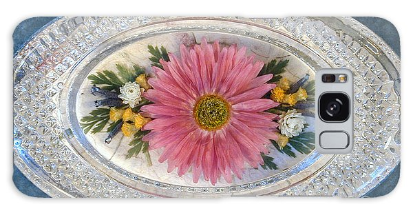 Pressed And Dried Flower Paperweight Galaxy Case