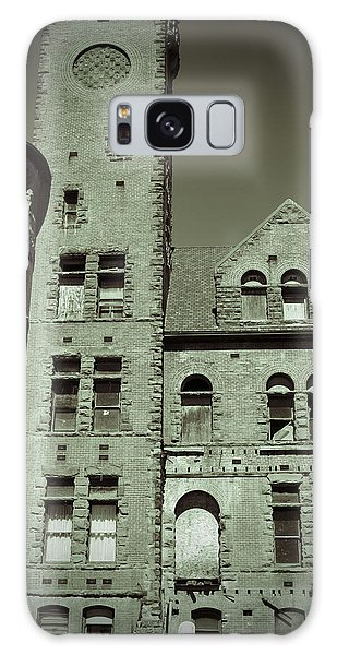 Preston Castle Tower Galaxy Case by Holly Blunkall