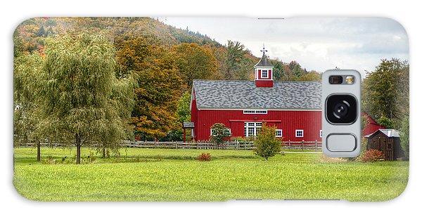 Prettiest Barn In Vermont Galaxy Case