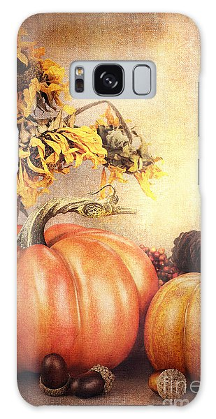 Pretty Autumn Display Galaxy Case by Stephanie Frey