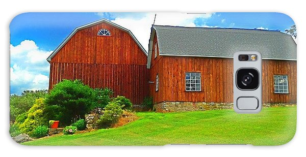 Pretty Barn And Arch Window Galaxy Case