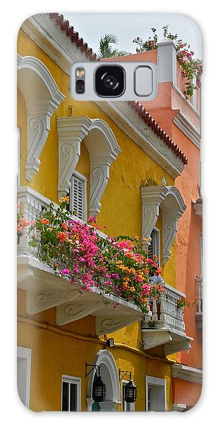 Pretty Dwellings In Old-town Cartagena Galaxy Case
