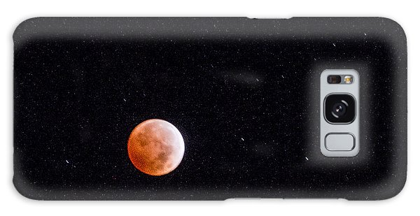 Pretty Face On A Blood Moon Galaxy Case
