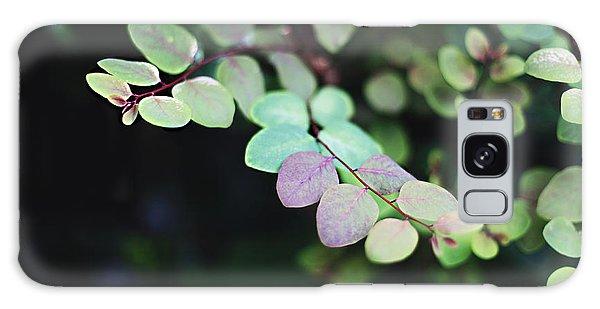 Pretty In Green Galaxy Case by Heather Green