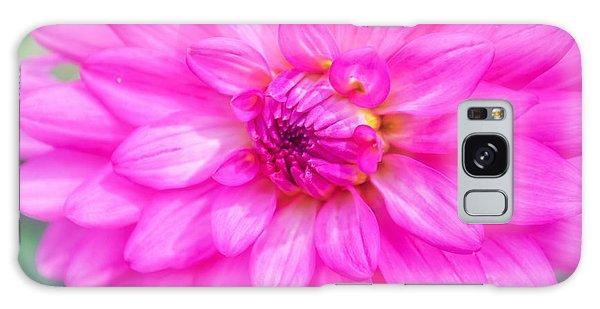 Pretty In Pink Dahlia Galaxy Case
