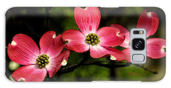 Pretty In Pink Galaxy Case by James C Thomas
