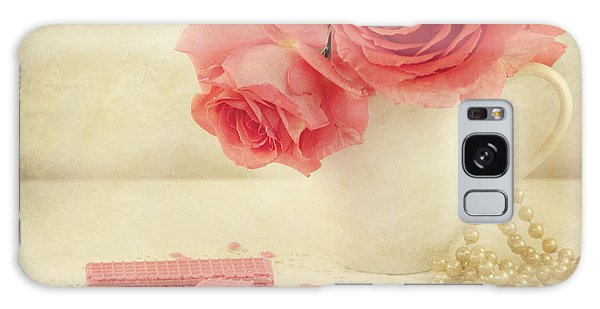 Pink Flower Galaxy Case - Pretty In Pink by Juli Scalzi