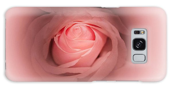 Pretty In Pink Rose Abstract Galaxy Case
