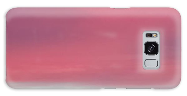 Pretty In Pink Sunrise Galaxy Case