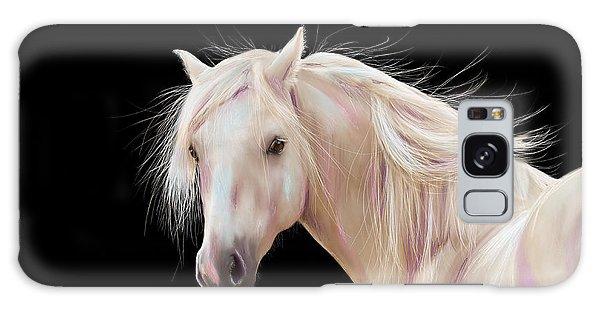 Pretty Palomino Pony Painting Galaxy Case