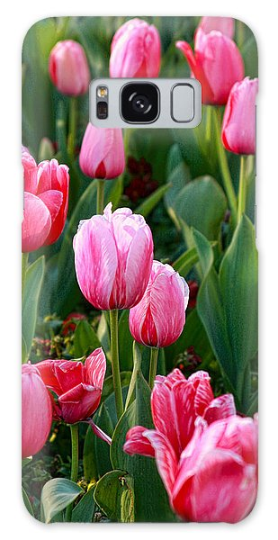 Pretty Pink Galaxy Case by Joan Bertucci
