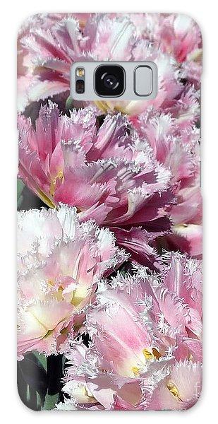 Pretty Pink Petal Galaxy Case