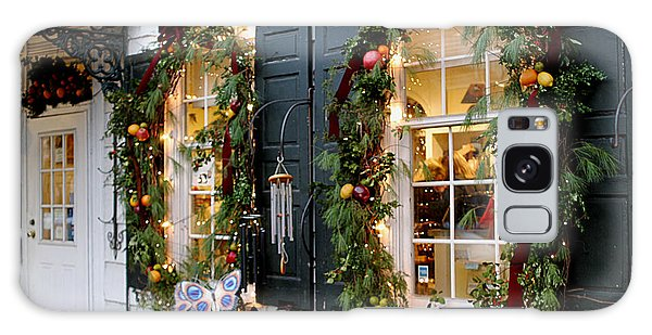 Pretty Store Windows Galaxy Case by Living Color Photography Lorraine Lynch