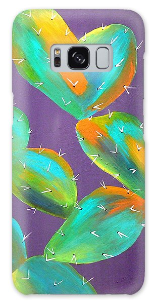 Prickly Pear Abstract Galaxy Case