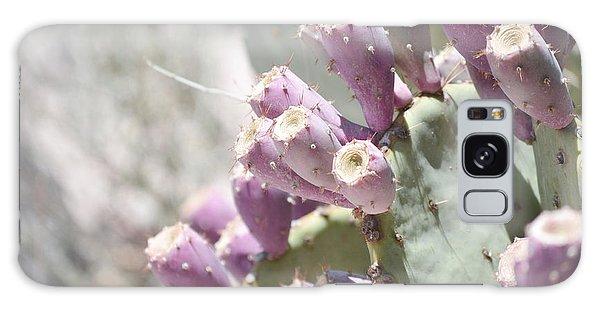 Prickly Pear Cacti Galaxy Case by Andrea Hazel Ihlefeld