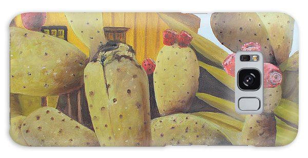 Prickly Pear Galaxy Case