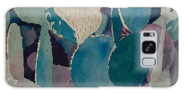 Prickly Pear Galaxy Case by Terry Holliday