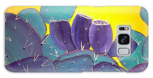 Prickly Pear With Fruit Galaxy Case by Karyn Robinson