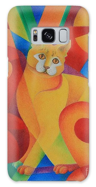 Primary Cat II Galaxy Case by Pamela Clements
