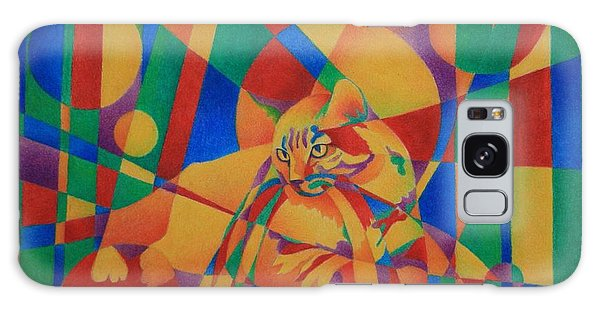 Primary Cat IIi Galaxy Case by Pamela Clements