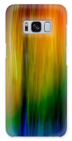 Primary Rainbow Galaxy Case by Darryl Dalton