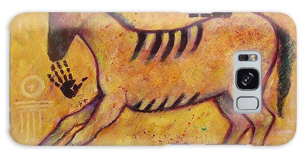 Primitive Color Horse Galaxy Case
