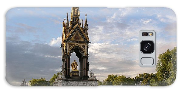 Prince Albert Memorial Galaxy Case by Bev Conover