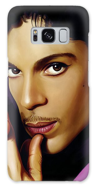 Prince Artwork Galaxy Case