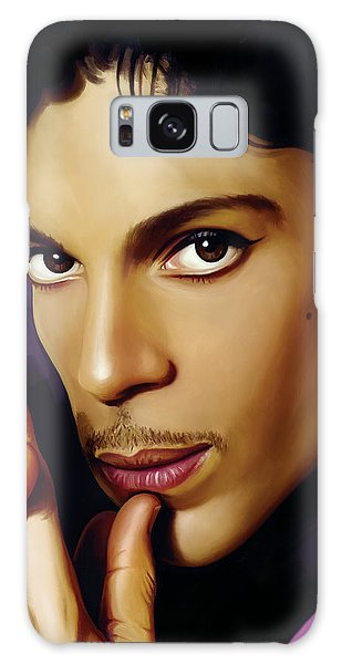 Rock And Roll Galaxy S8 Case - Prince Artwork by Sheraz A