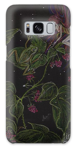 Prince Of The Berry Bushes Galaxy Case by Dawn Fairies