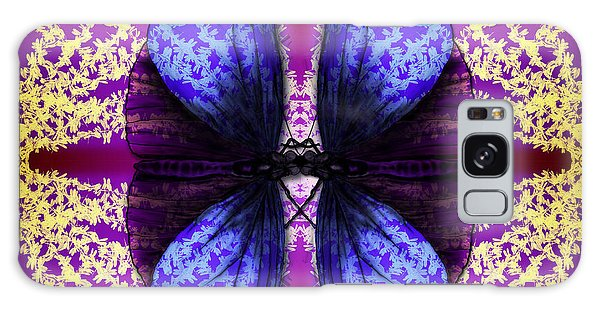Prisoner Butterflies Galaxy Case