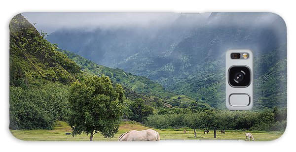 Pristine Pastures  Galaxy Case by Hawaii  Fine Art Photography