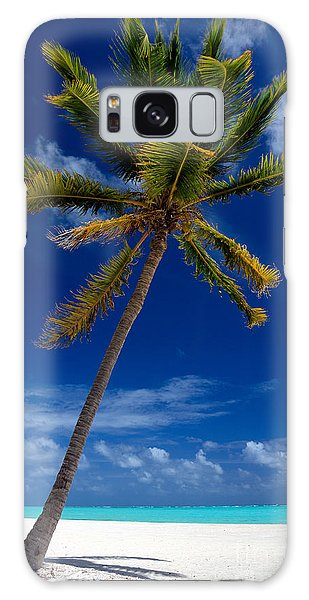 Pristine Tropical Beach  Galaxy Case